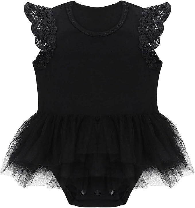 Infant Newborn Baby Girl Cotton Lacework Bodysuit Romper Jumpsuit Outfit Clothes