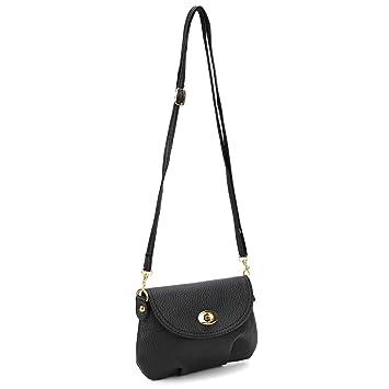 8ef3004f992a Women Mini Small Handbag Satchel Crossbody Shoulder Messenger Totes Bag 7  Colors (Black)  Amazon.co.uk  Luggage