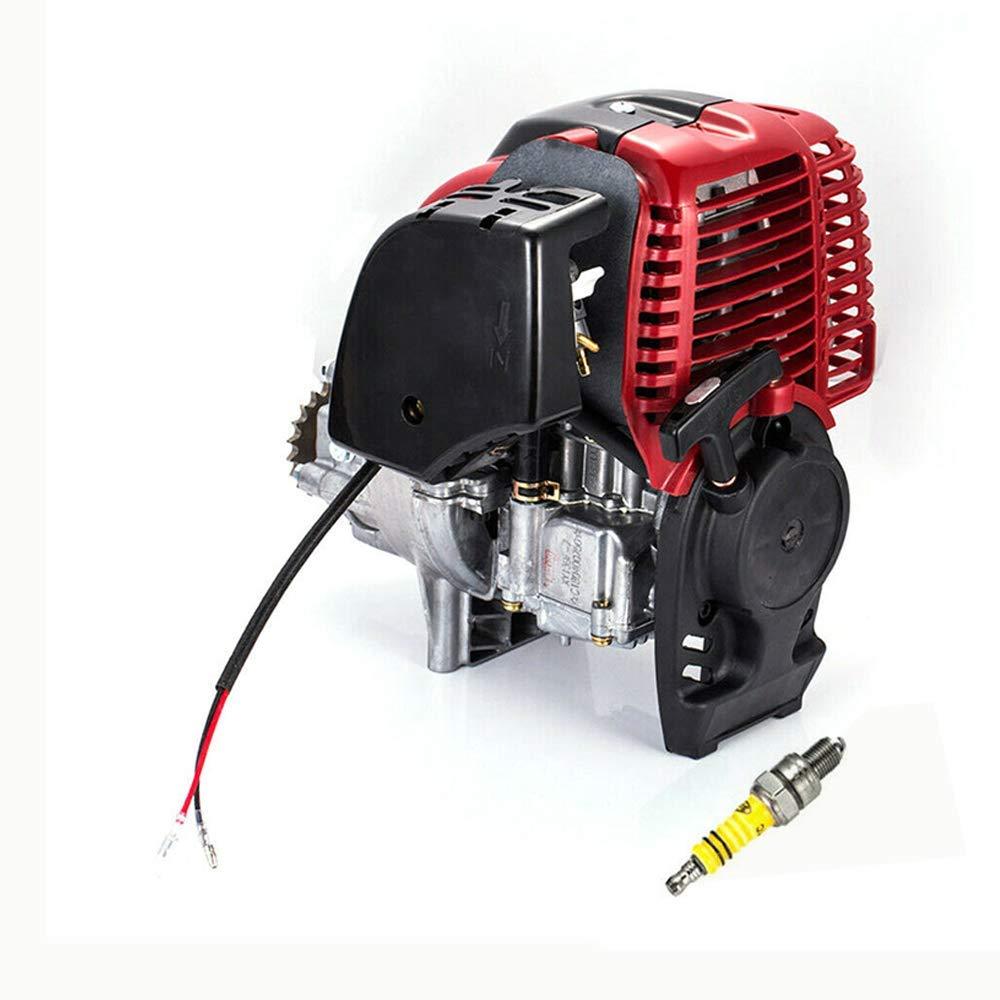 HOTSTORE 4 Stroke Bicycle Engine Kit, 49CC Engine Motorized Bike Kit, Gas Motor Pull Start Conversion Kit Air Cooling Motorized Engine Bike Motor Kit by HOTSTORE