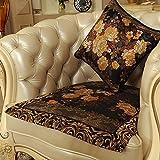 European style sofa cushions Luxury slip sofa cushions Fabric seat cushion E 70x210cm(28x83inch)