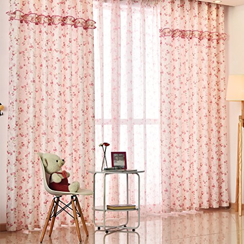 Pink And Green Curtains - 8