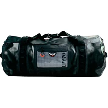 La Playa Cylinder Large Outdoor 70L Duffle Multi Sports Training Gym Mens  Luggage Holdall Black Travel 6394e3b635c79