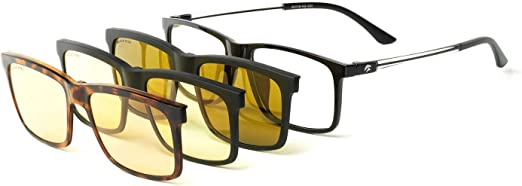Eagle Eyes Sunglasses As Seen On TV Triple Filter Polarized Clip Ons