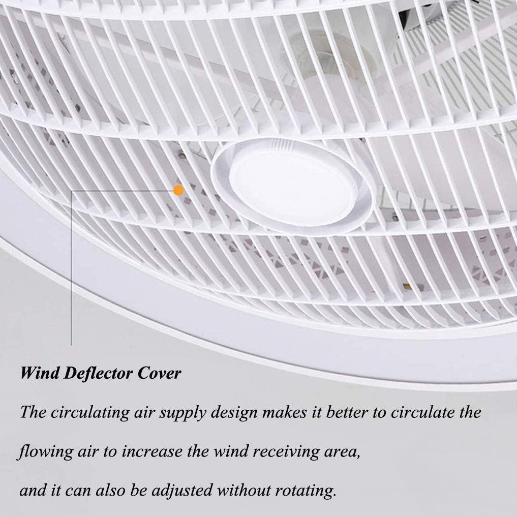 XMYX Deckenventilator mit Beleuchtung und Fernbedienung Leise Fan Dimmbar LED Deckenleuchte f/ür Schlafzimmer Wohnzimmer Esszimmer Kinderzimmer Unsichtbar L/üfterleuchte,Schwarz
