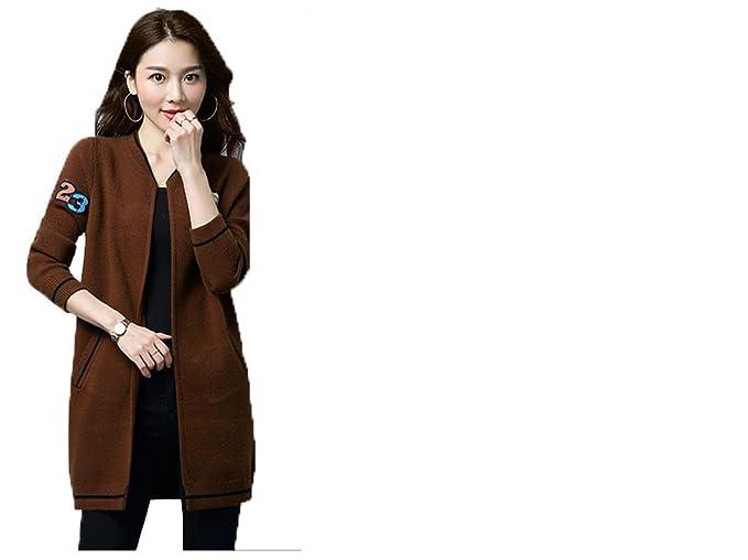 giacca lunga donna primavera coreana