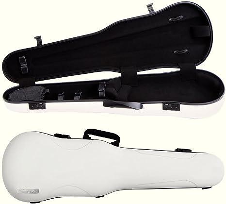 GEWA Cases Estuche de violín con forma Air 1.7 Blanco brillante: Amazon.es: Instrumentos musicales