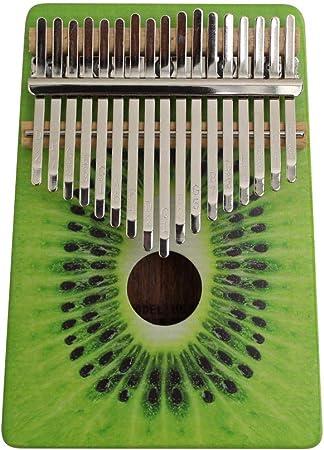 Muslady Piano de Pulgar Kalimba de Madera Portátil de 17 ...