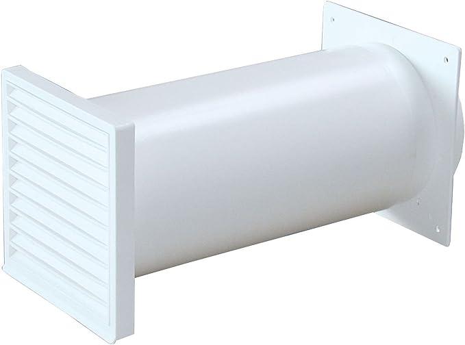 Canalizado Muro Buzón Blanco Diámetro 150 mm telescópico Tubo Redondo De 22 a 48 cm Válvula antirretorno * 528394: Amazon.es: Grandes electrodomésticos