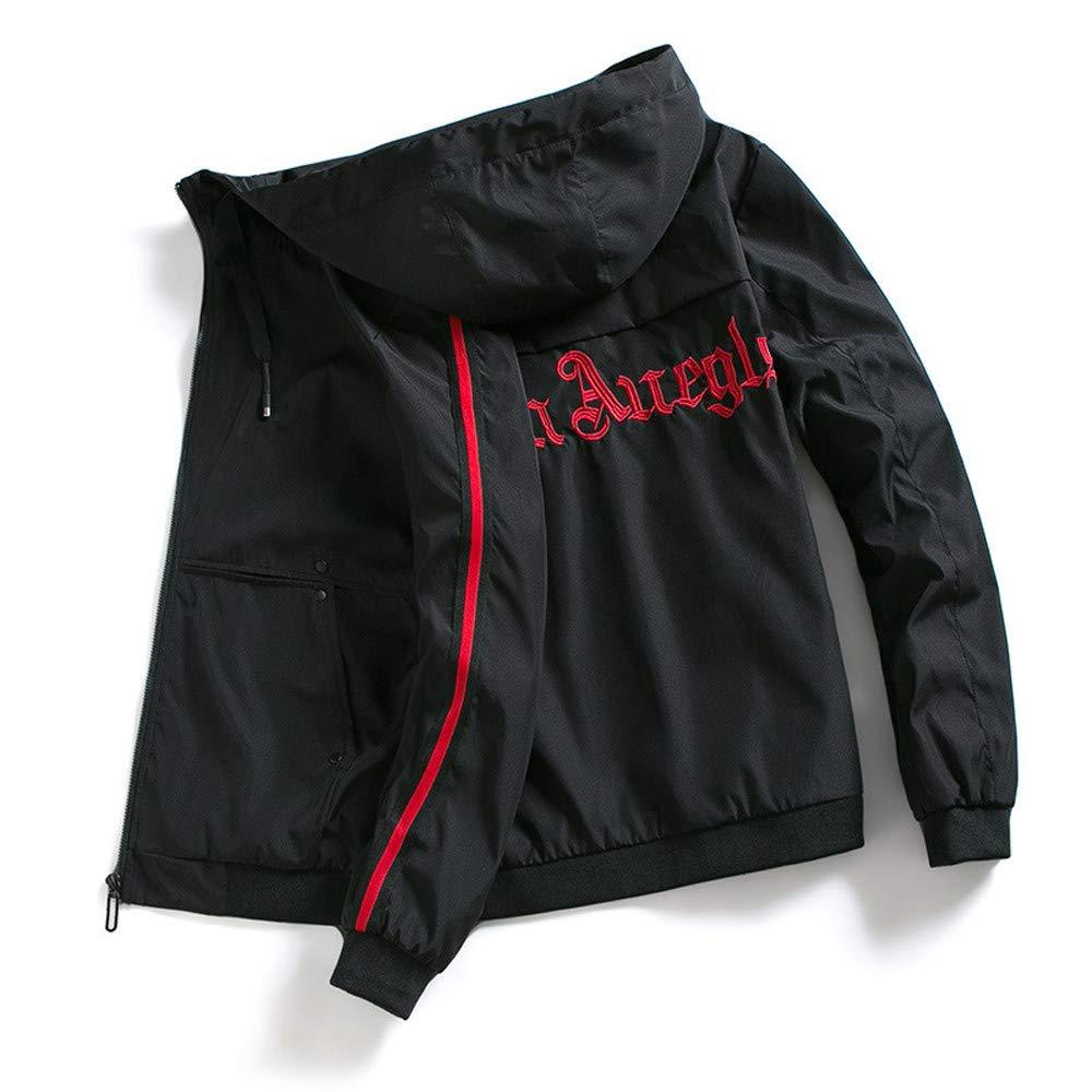 Usstore  Mens Jacket,Autumn Winter Warm Zipper Coat Tops Outerwear Hooded Sweatshirt