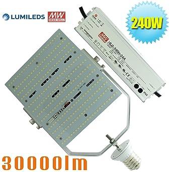 1000watt metal halide replacement led 240w retrofit bulbs 5700k