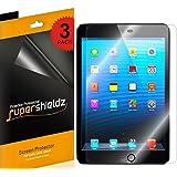 [3-Pack] Supershieldz For Apple iPad Mini 3 / iPad Mini 2 / iPad Mini Screen Protector, Anti-Bubble High Defintion Clear shield + Lifetime Replacements Warranty
