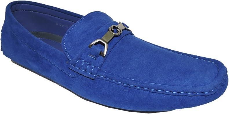 SHOE ARTISTS My Blue Suede Shoes