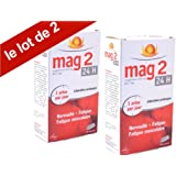 Mag2 24H - Magnésium - libération prolongée - Nervosité - fatigue - fatigue musculaire - lot 2x45 Comprimés