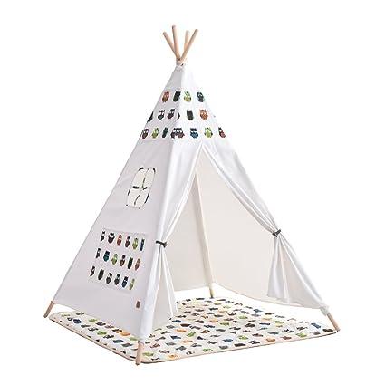 Tienda de juegos, casita, espacio de lectura para niños. madera de pino y