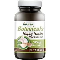 Lifeplan Happy Garlic 300mg 180 Tablets