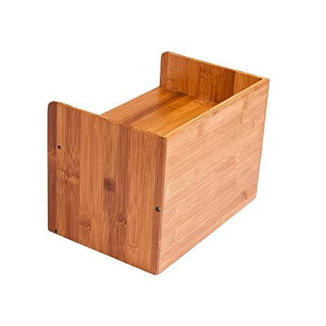 makeup organizer wood. ancona life desktop organizer 3-tier mini desk makeup with drawers bamboo brown wood