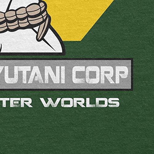 TEXLAB - Weyland Yutani Facehugger - Herren T-Shirt, Größe XXL, flaschengrün