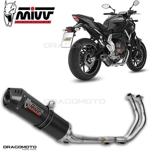 Auspuff Mivv Oval Yamaha Mt 07 13 16 Carbon Carbon Auto