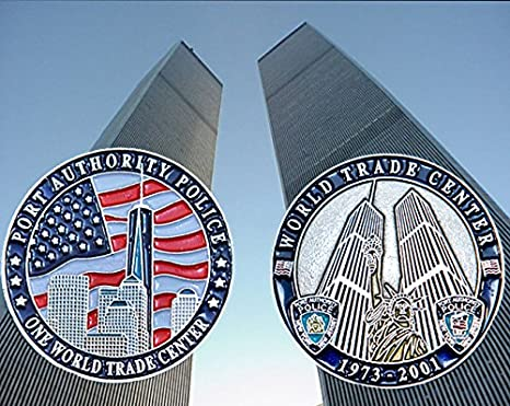 PAPD Port Authority of NY & NJ Police World Trade Center Challenge Coin