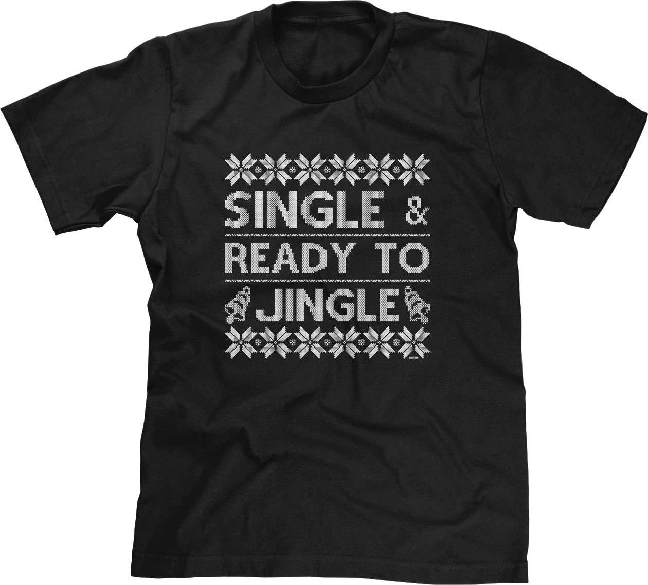 S T Shirt Single Ready To Jingle Christmas 7893