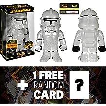 Clone Trooper: ~ 7 Star Wars x Funko Hikari Sofubi Vinyl Figure (Only 1500 PCS Made World Wide) + 1 FREE Official Star