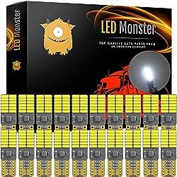 LED Monster 20-Pack White LED Light Bulbs RV Trail