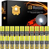 office 2007 service pack 2 - LED Monster 20-Pack White LED Light Bulbs RV Trailer 24-SMD T10 921 194 168 2825 12V Backup Reverse Interior Side Trailer (White)