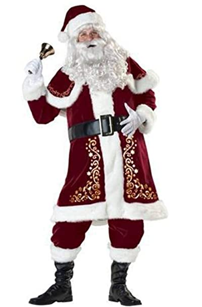 Amazon.com: Par Mr. Mrs. La Sra. Santa Claus Navidad las ...
