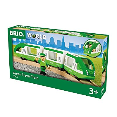 Brio World - Green Travel Train: Toys & Games