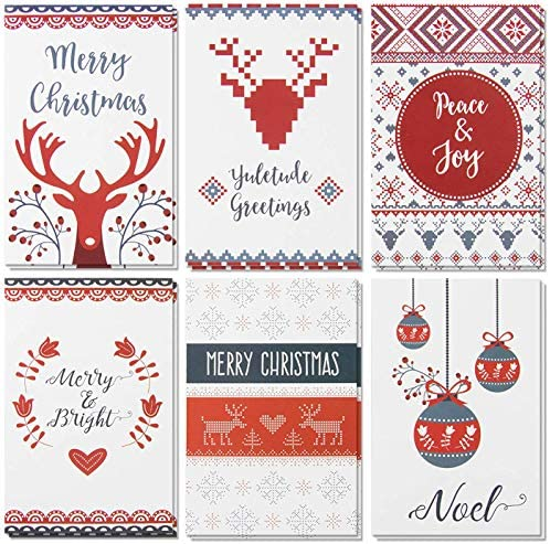 48 Pack Merry Christmas Holiday Greeting product image