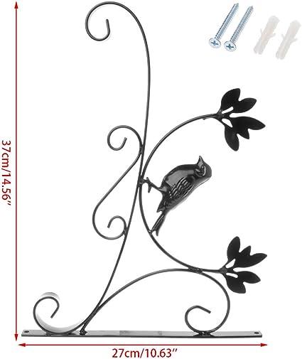 Fanville Wand h/ängende Klammern Haken f/ür Garten Korb Laterne Rasen Licht Blument/öpfe Pflanzen Kleiderb/ügel Garten Dekoration