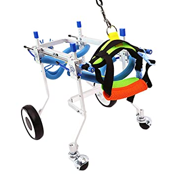 Amazon com : Flameer Dog Support & Recovery Wheelchair - Cart for