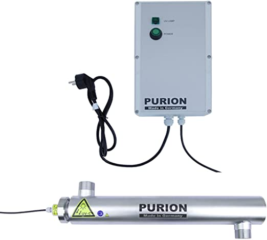 Purificador de agua PURION 2001 Piscina con sistema UV hasta 30m³ ...