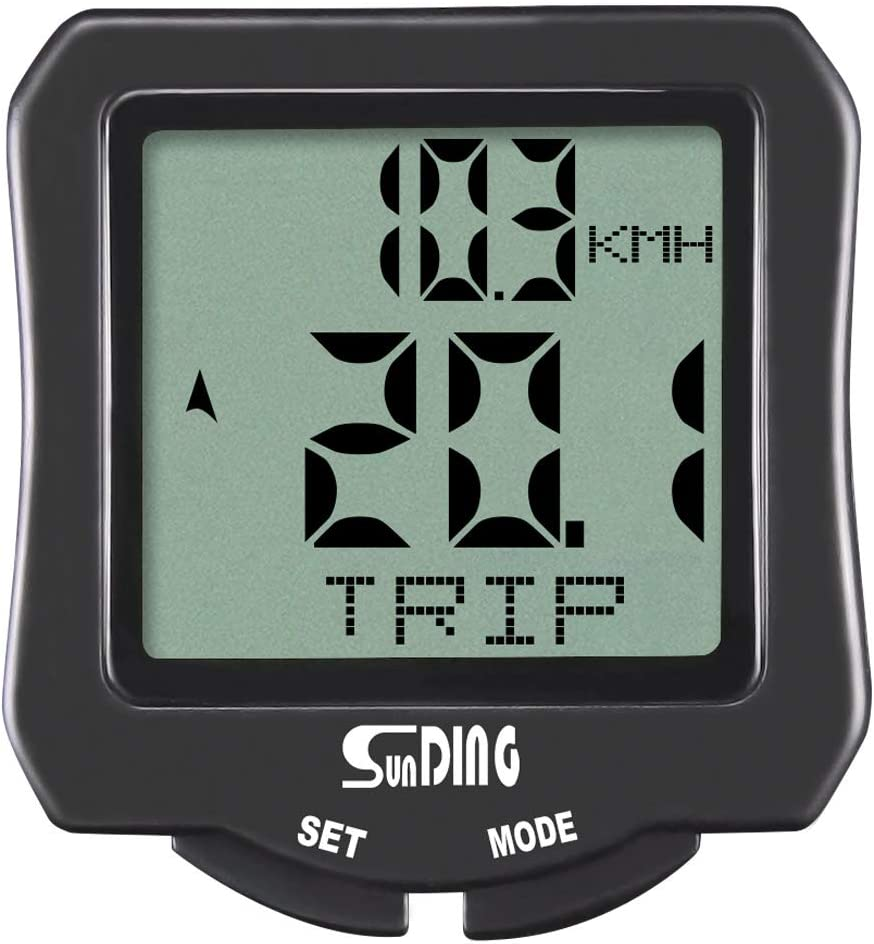 SUNDING Wireless Bicycles Computers Waterproof Cycling Speedometer Bike Odometer