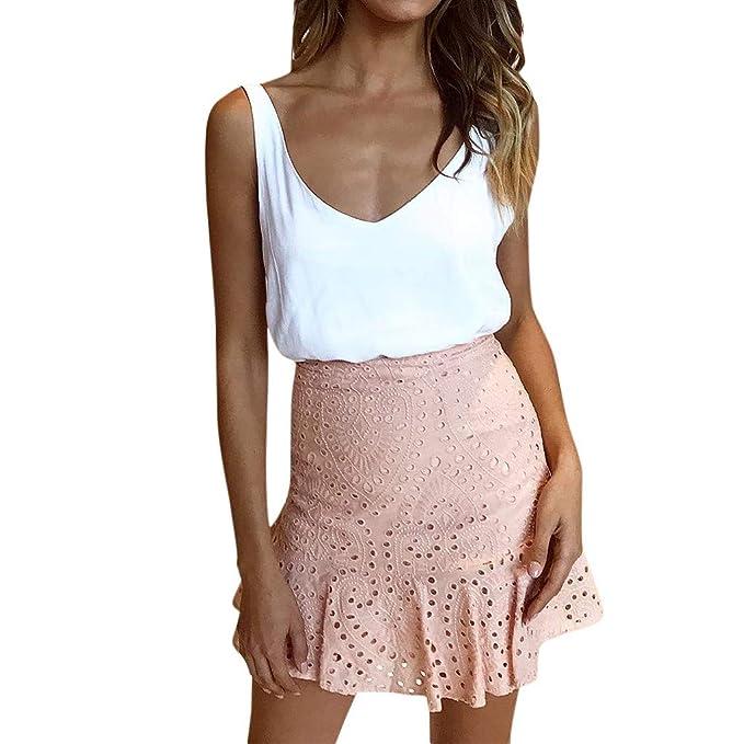 c2995ede8 Rawdah_Faldas Mujer Largas Elegantes Faldas Mujer Cortas Verano ...