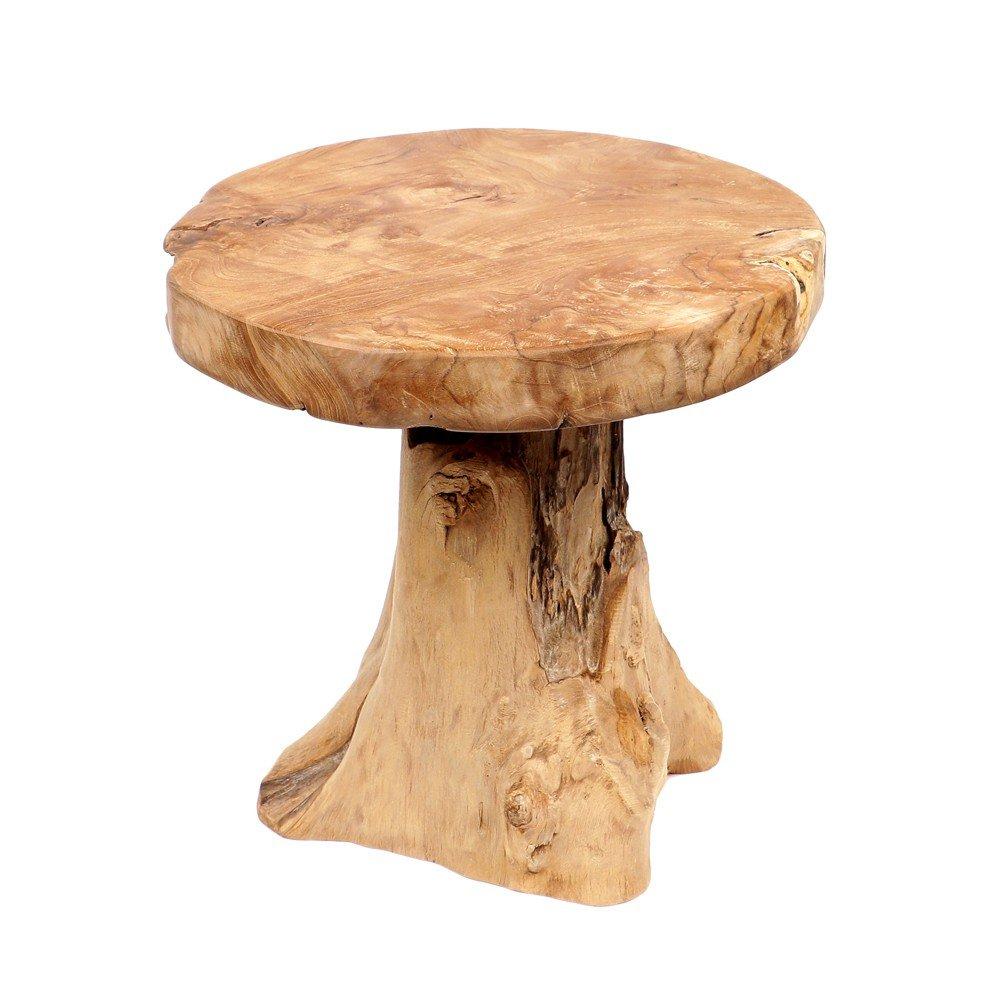 Schön Beistelltisch Holz Ideen Von Wohnfreuden Teak-holz Hocker 43 Cm S Holztisch: