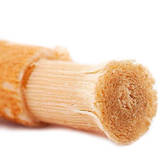 Kit de cepillo de dientes (2 varillas blanqueadoras de dientes orgánicas y respetuosas con el medio ambiente, con raíces de árbol de Persica Salvadorana) ...