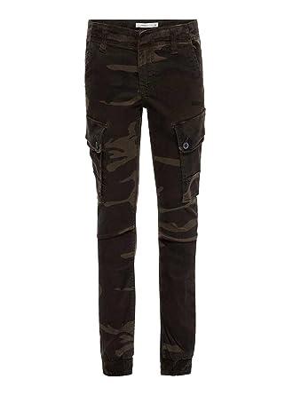 Kunden zuerst online zu verkaufen bekannte Marke Name it Cargohose Baumwollhose SLIM camouflage NITBACAMO 13146890