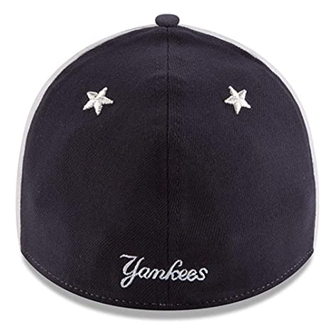 Amazon.com   New Era New York Yankees 2018 MLB All-Star Game 39THIRTY Flex  Hat - White 86d409790d10