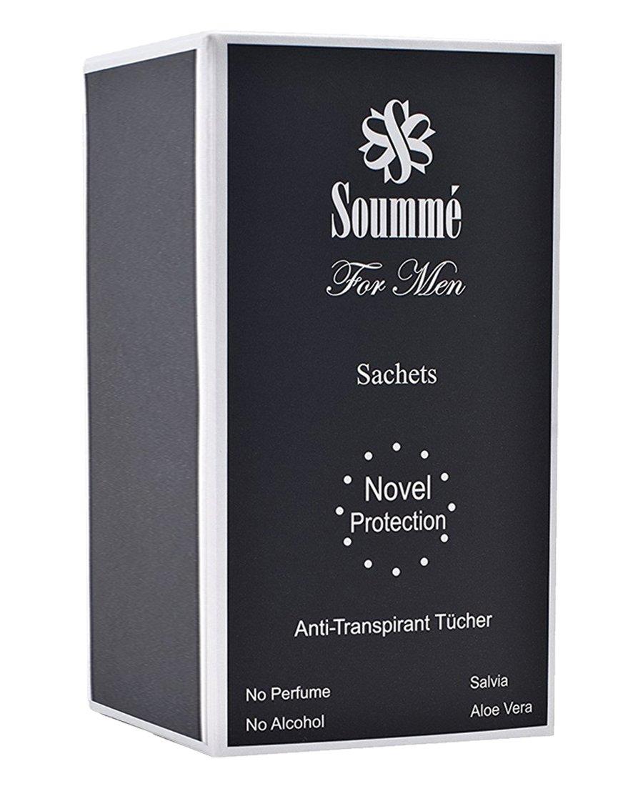 Novel Protection for Men - Anti-Transpirant Tücher BIG BOX - STOPPT ...