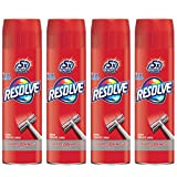 Resolve High Traffic Carpet Foam, 88 oz (4 Cans x 22 oz), Cleans Freshens Softens & Removes Stains