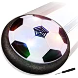 Baztoy Balón Fútbol Flotant, Pelota Futbol con Protectores de Espuma Suave y Luces LED Balones Futbol Juguetes Niños 3 4…