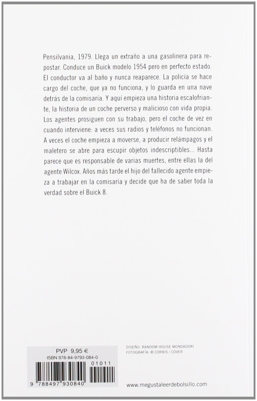 Buick 8, Un Coche Perverso/ From a Buick Eight (Best Seller) (Spanish Edition)