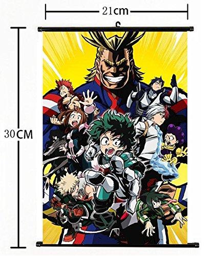 Hot Japan Anime Boku no Hero Academia Wall Scroll Poster cosplay 1114