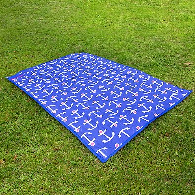 Buggygear 5-Foot x 7-Foot Waterproof Brilliant Blanket in Blue by Buggygear (Image #3)