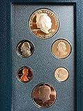 1990 US Mint Prestige Proof Set Original Government Packaging with Silver Eisenhower Dollar Proof