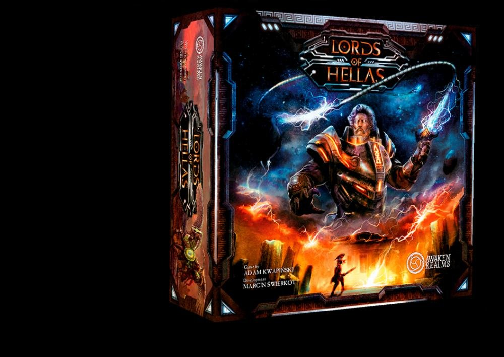 Awaken Realms Lords of Hellas Grundspiel deutsch