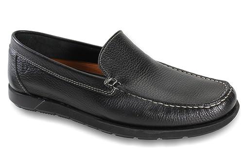 Valleverde Mocasines Para Hombre Negro Size: 41 EU: Amazon.es: Zapatos y complementos