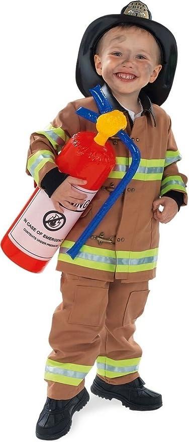 Amazon.com: Rubies Costume Co - Disfraz de bombero, color ...
