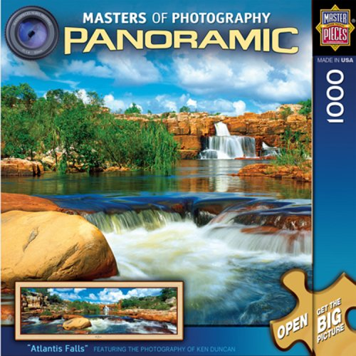 MasterPieces Masters of Photography Atlantis Fall Panoramic Jigsaw Puzzle, 1000-Piece ()